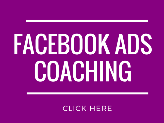 Facebook Ads coaching